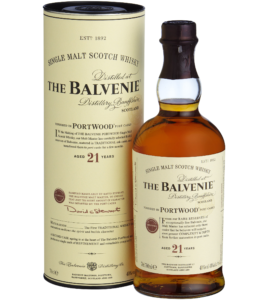 BALVENIE PORTWOOD 21YEAR OLD SCOTCH WHISKY