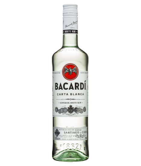 BACARDI CARTA BLANCA WHITE SUPERIOR RUM