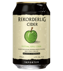 REKORDERLIG FESTIVAL APPLE  CAN