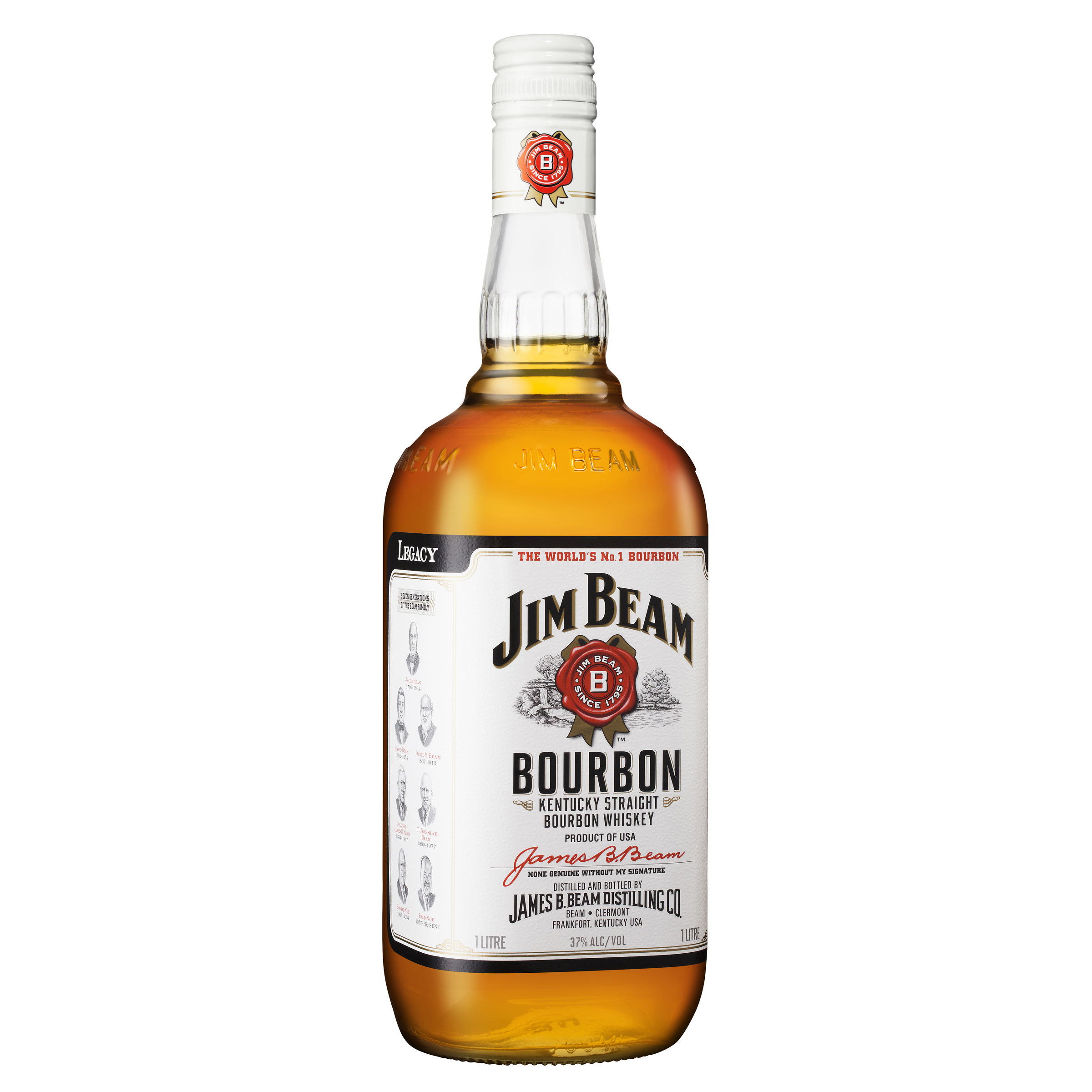 JIM BEAM BOURBON WHITE