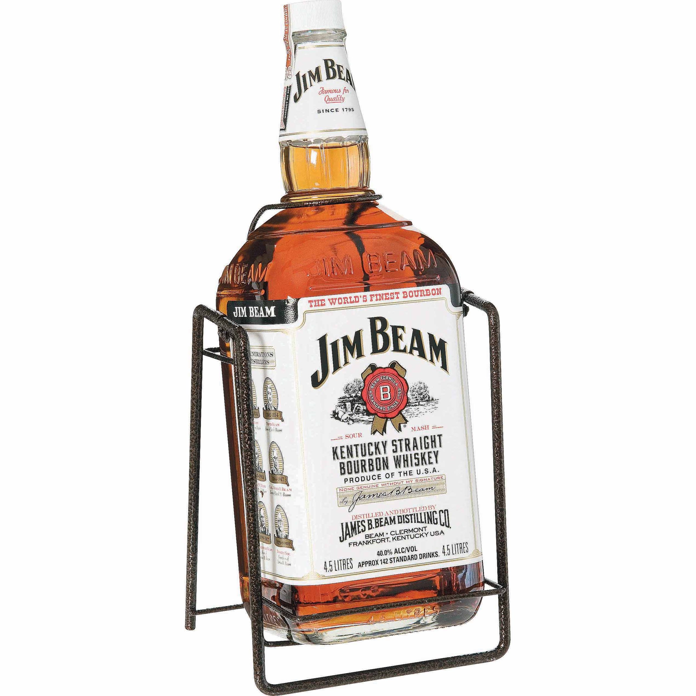 JIM BEAM BOURBON WHITE CRADLE