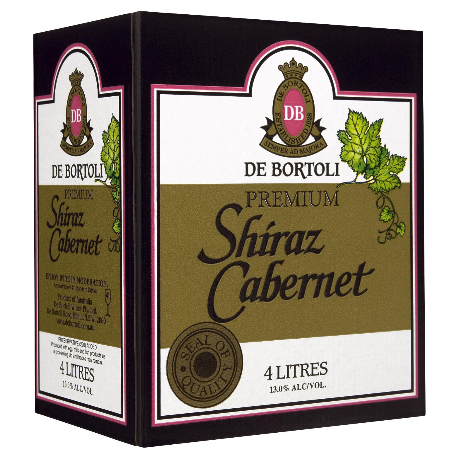 DE BORTOLI PREMIUM SHIRAZ CABERNET WINE CASK