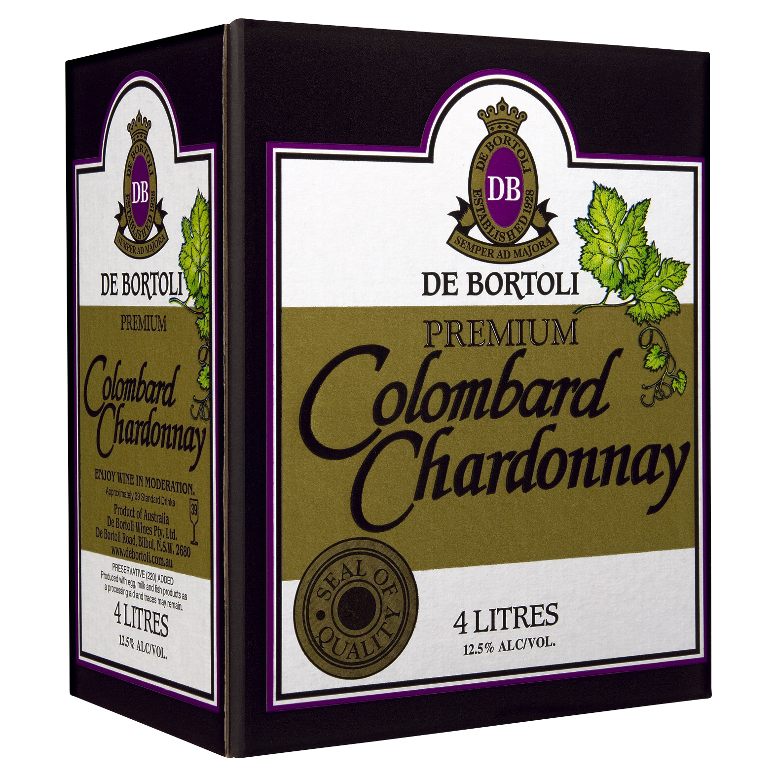 DE BORTOLI PREMIUM COLOMBARD CHARDONNAY