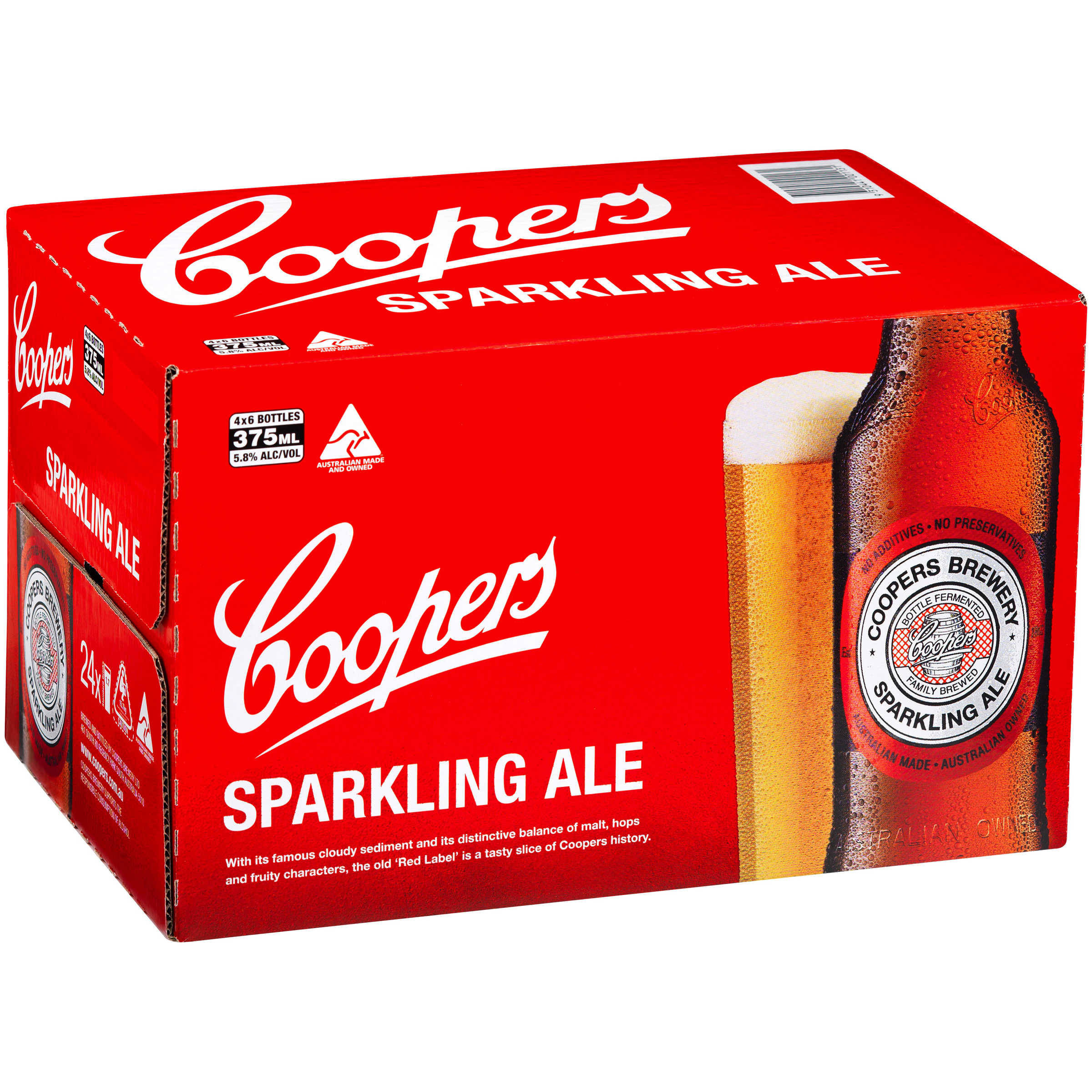 COOPERS SPARKLING ALE STUBBIES