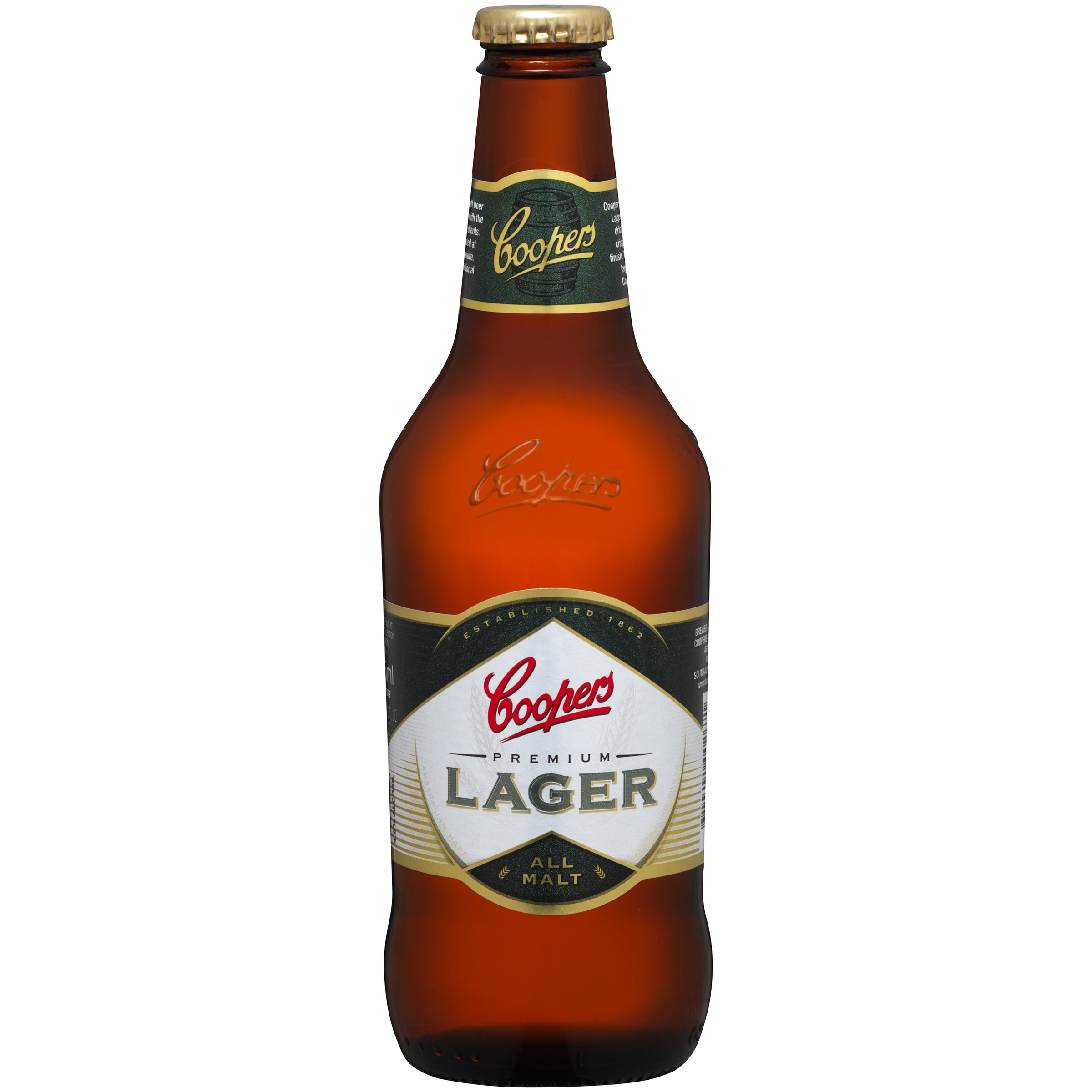 COOPERS PREMIUM LAGER STUBBIES