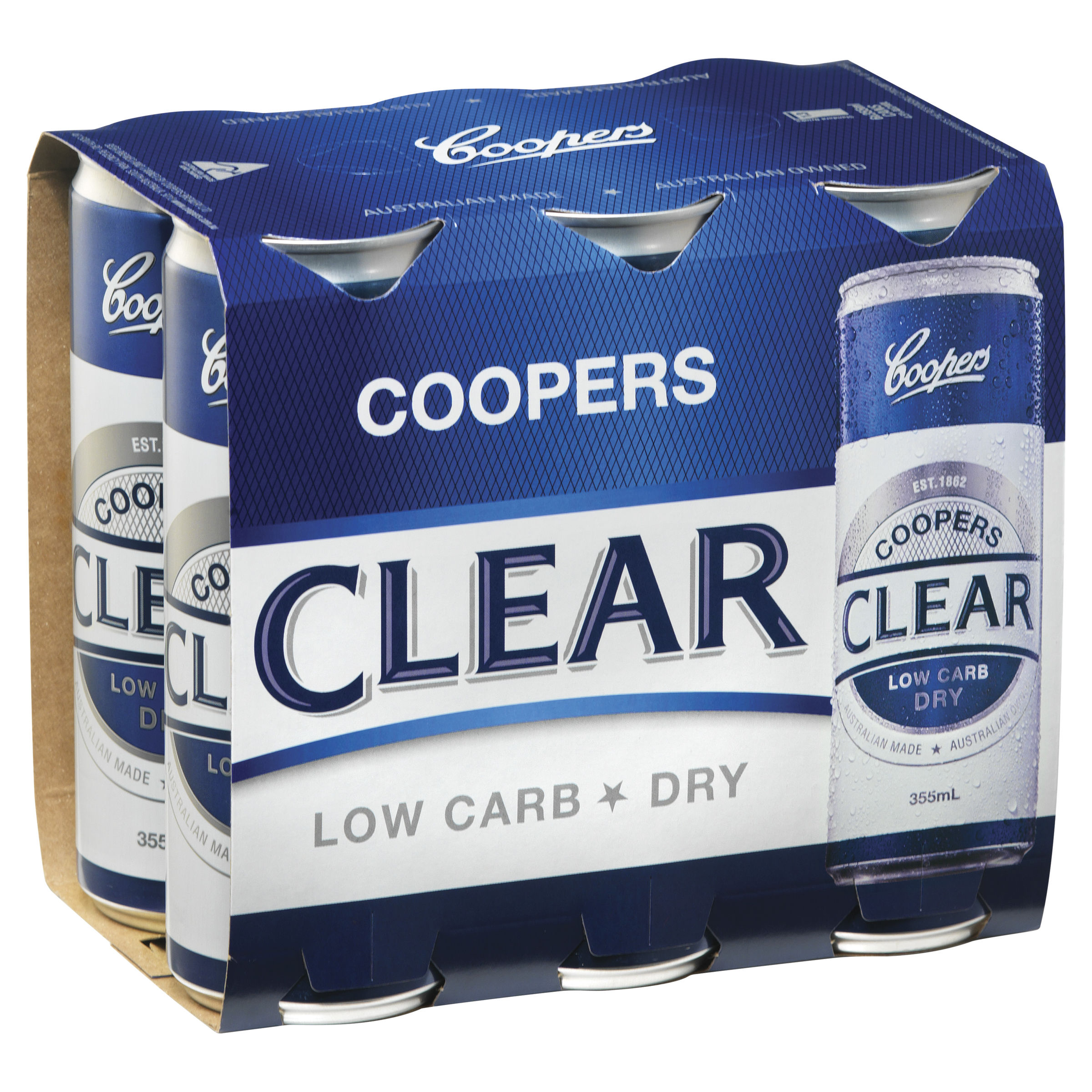 COOPERS CLEAR CANS