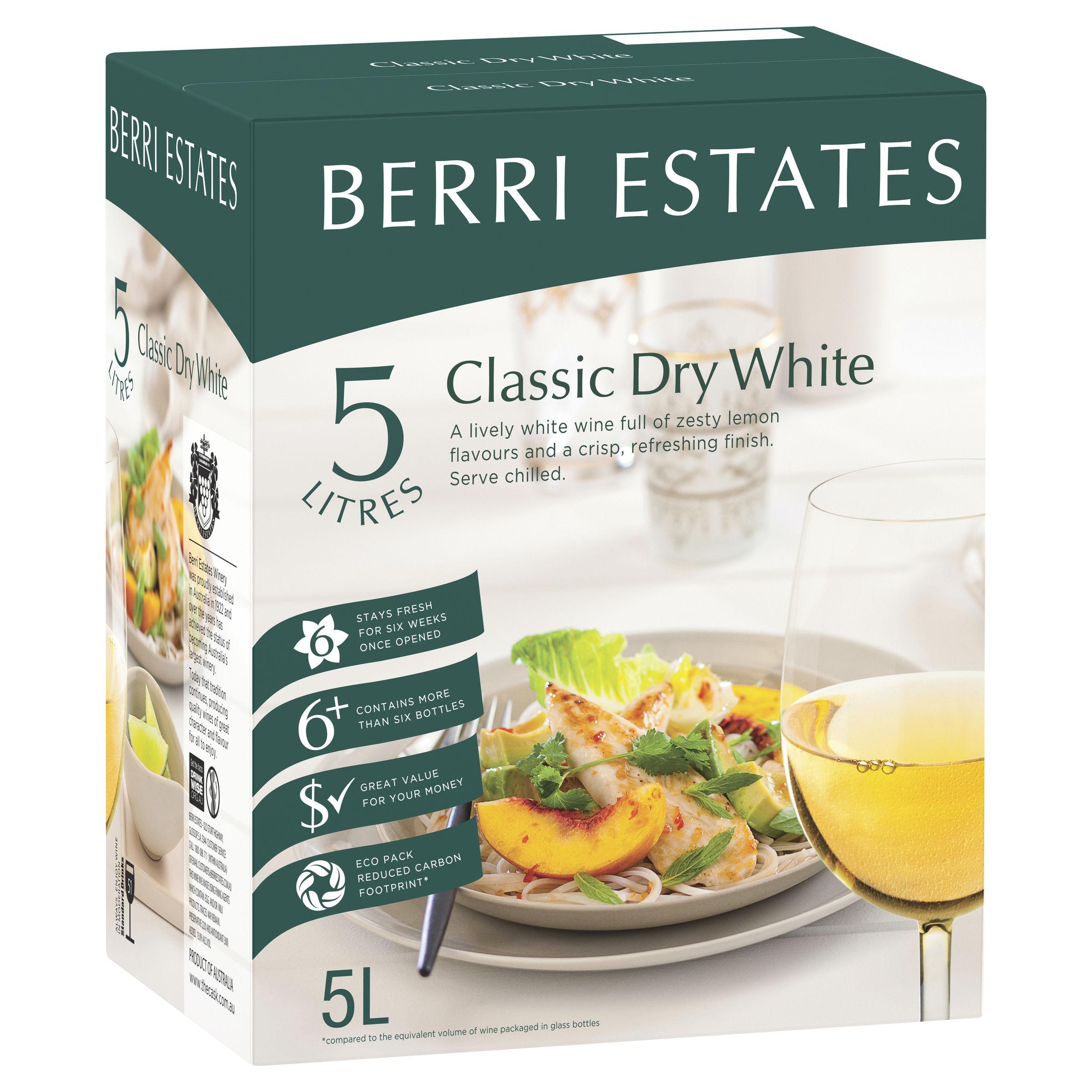 BERRI ESTATES CLASSIC DRY WHITE