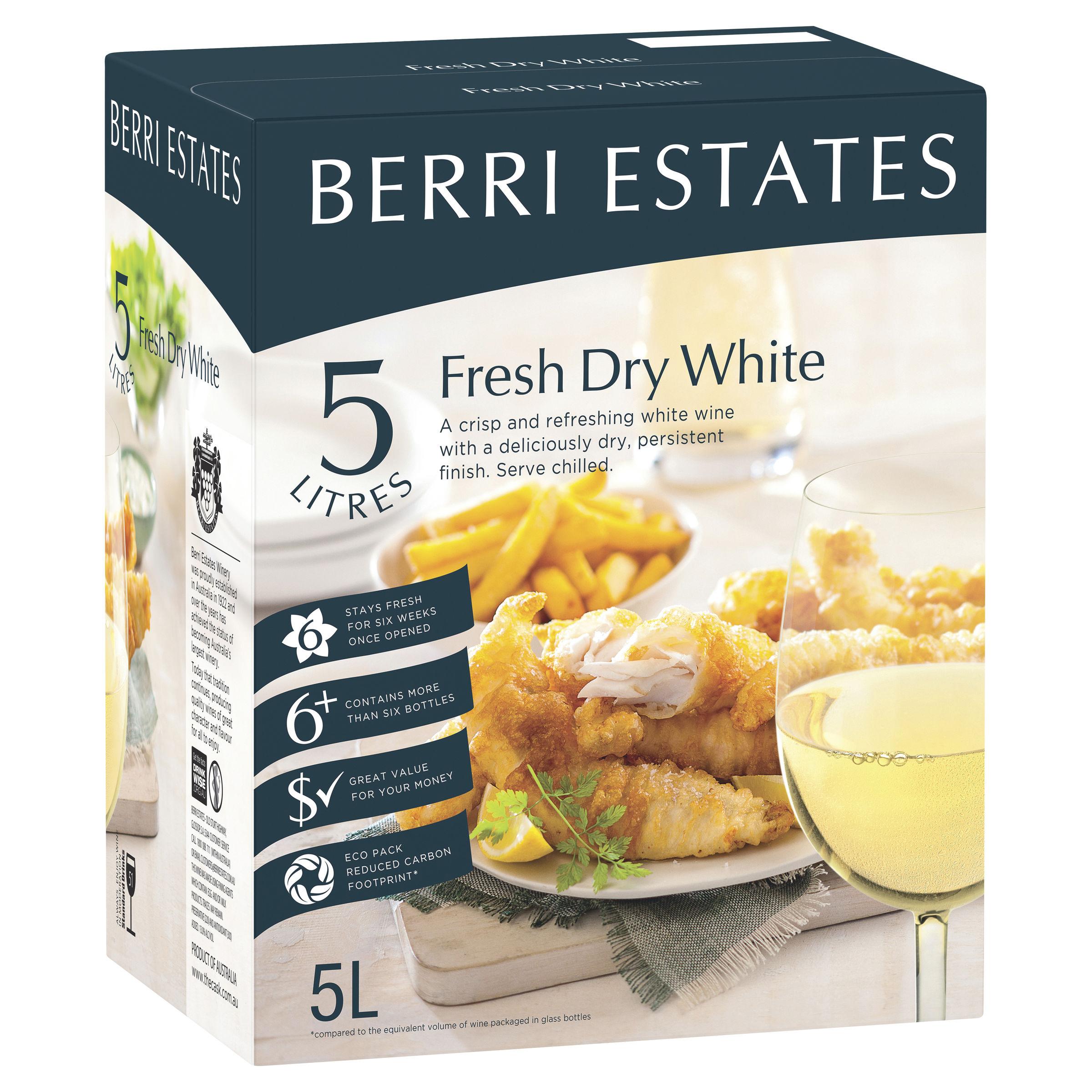 BERRI FRESH DRY WHITE RIESLING