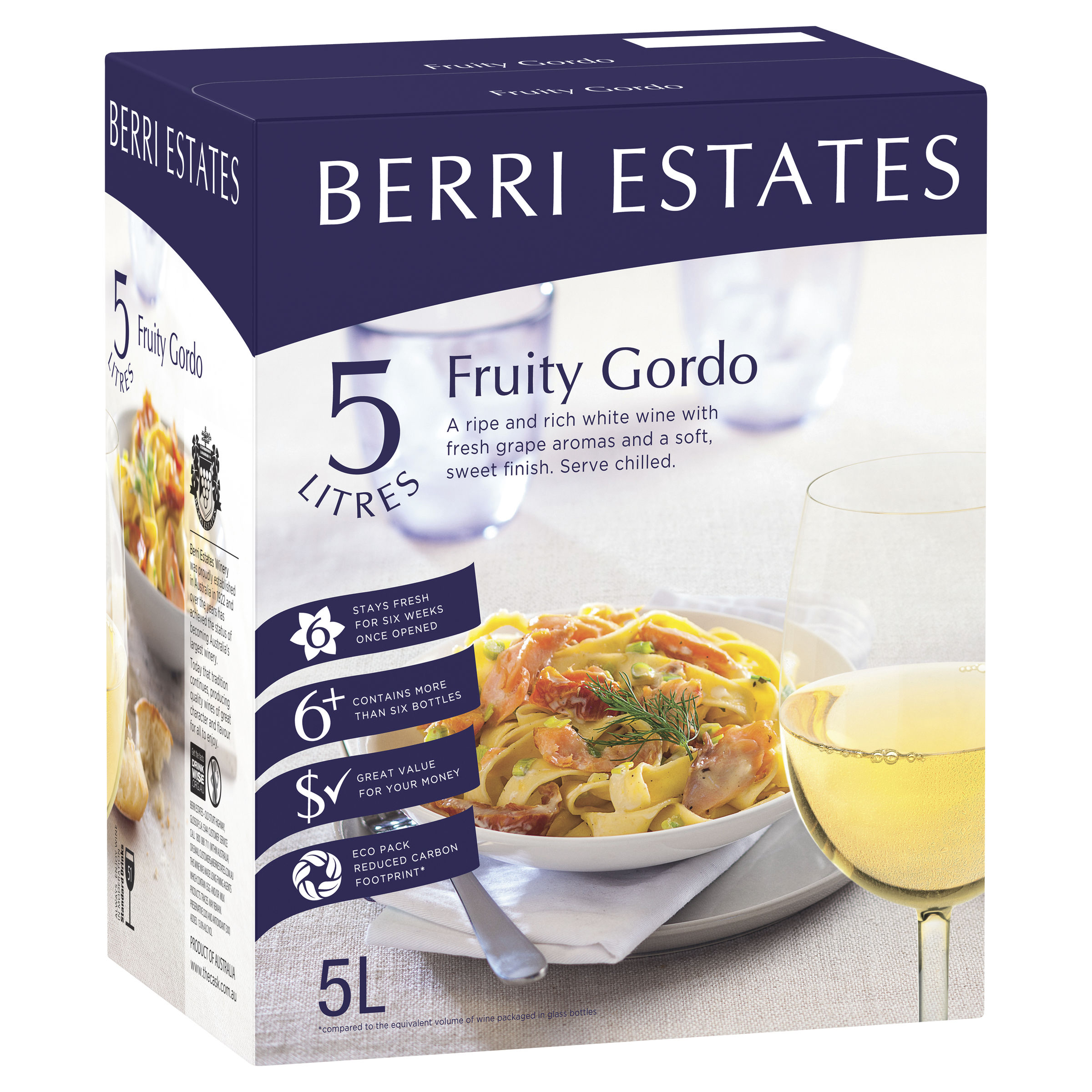BERRI SOFT FRUITY WHITE MOSELLE