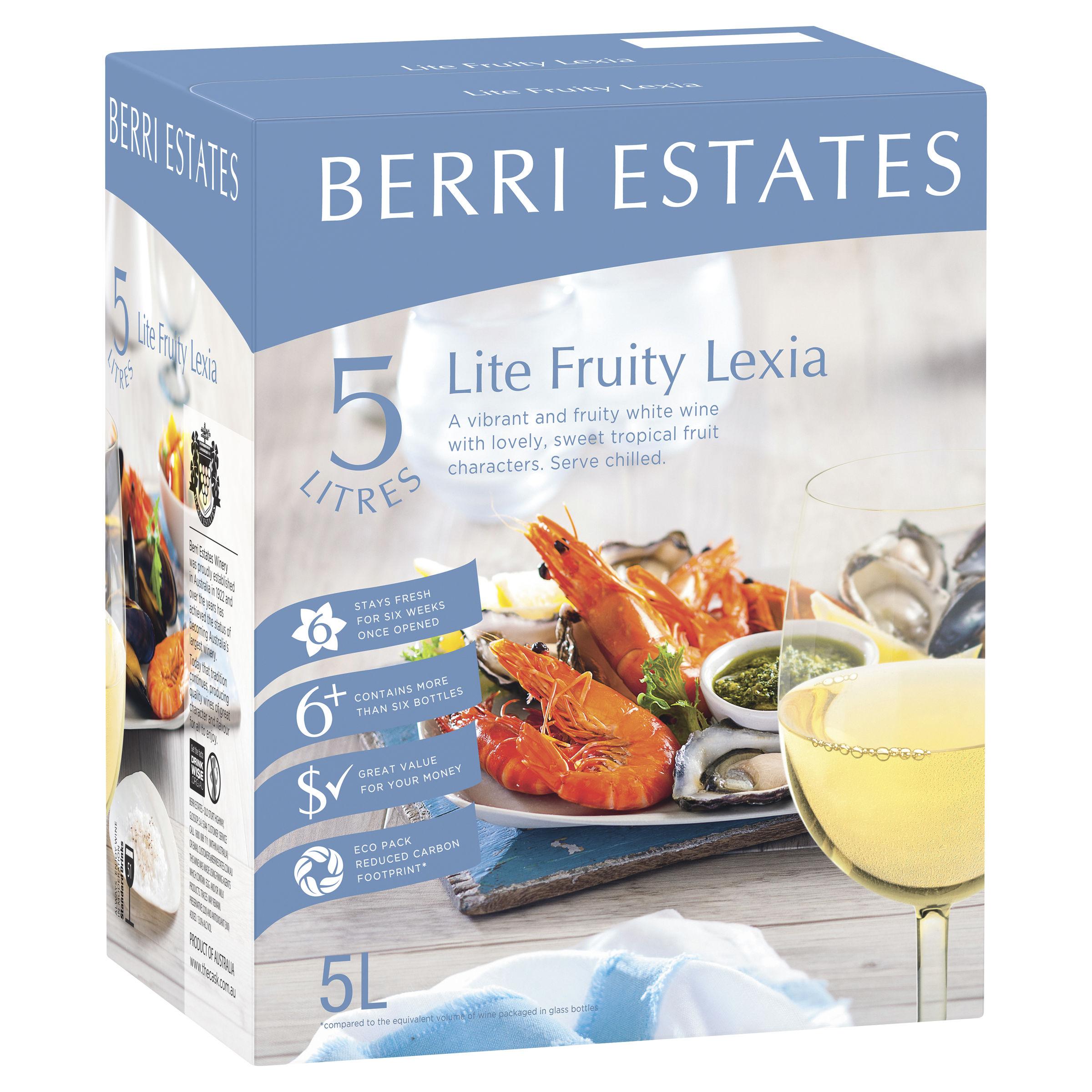 BERRI ESTATES LITE FRUITY LEXIA