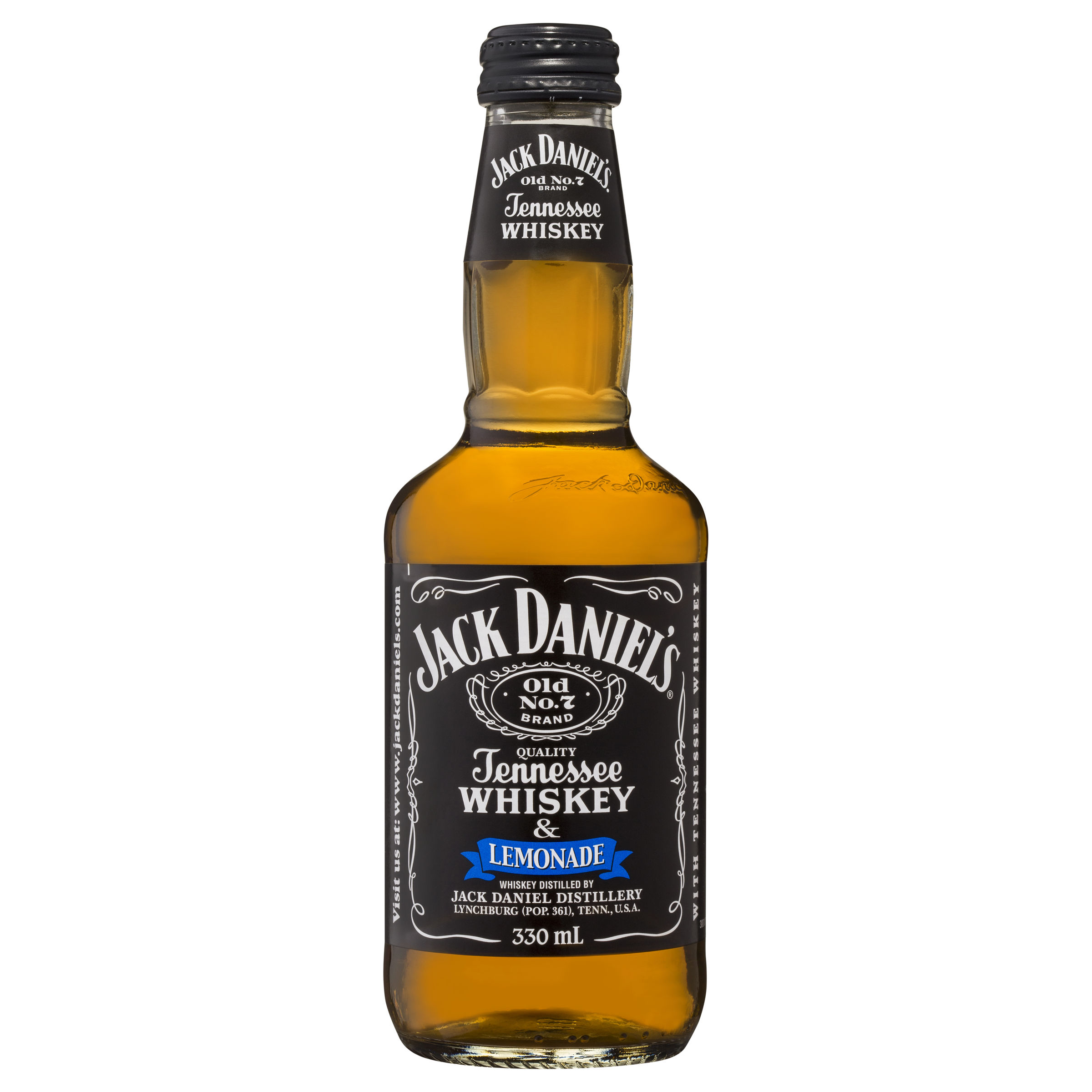 JACK DANIELS & LYNCHBURG LEMONADE BOTTLE