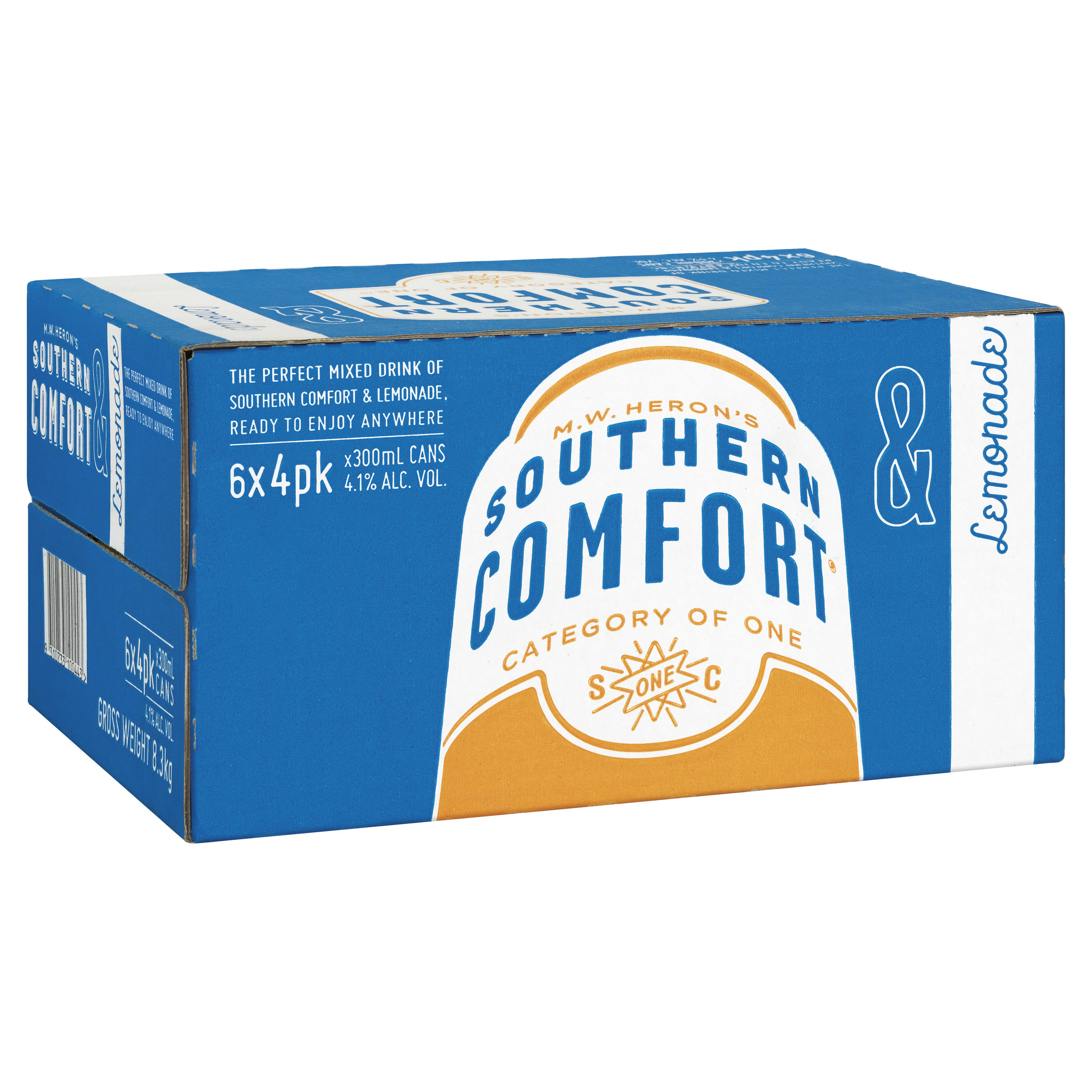 SOUTHERN COMFORT & LEMONADE CAN
