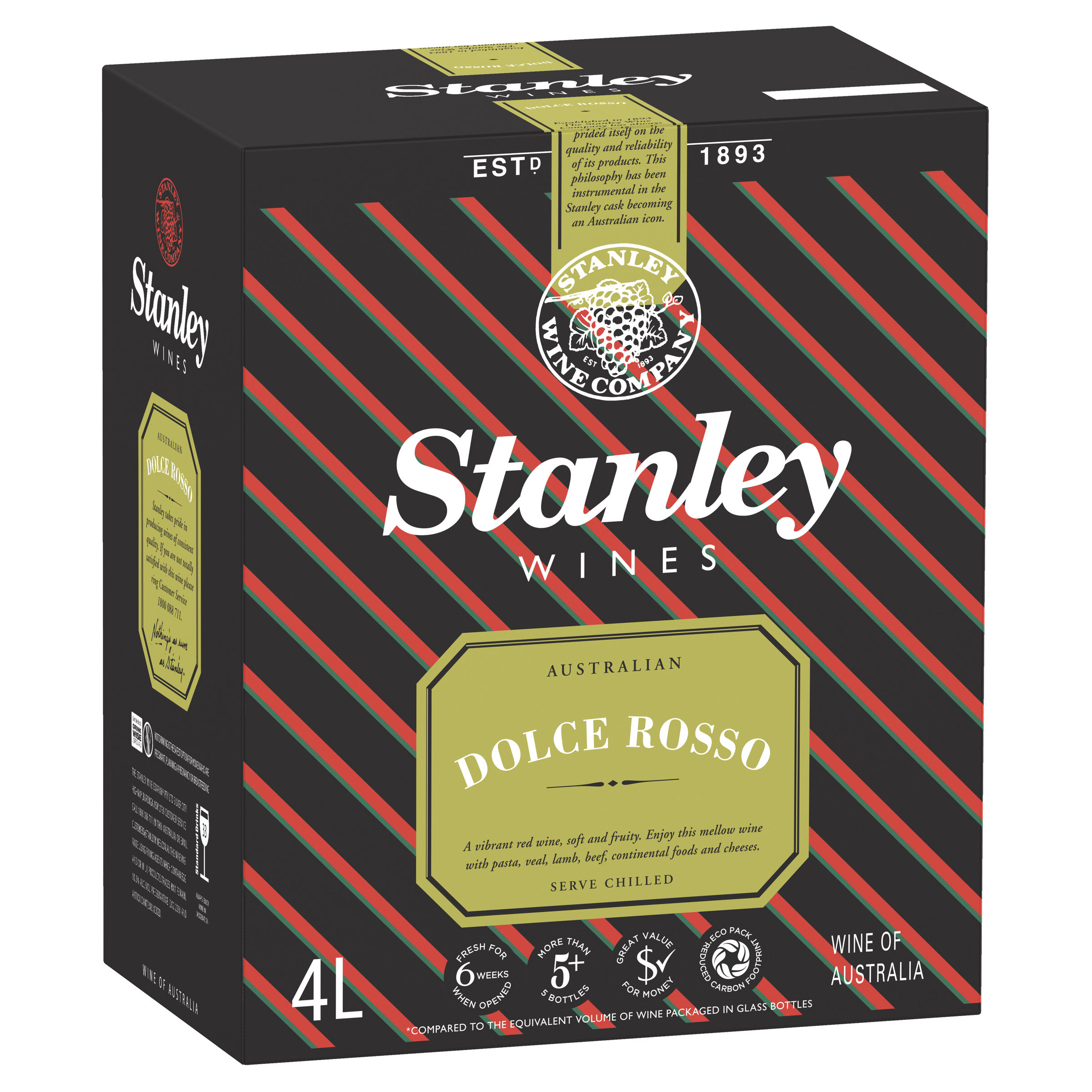 STANLEY RED LAMB DOLCE ROSSO