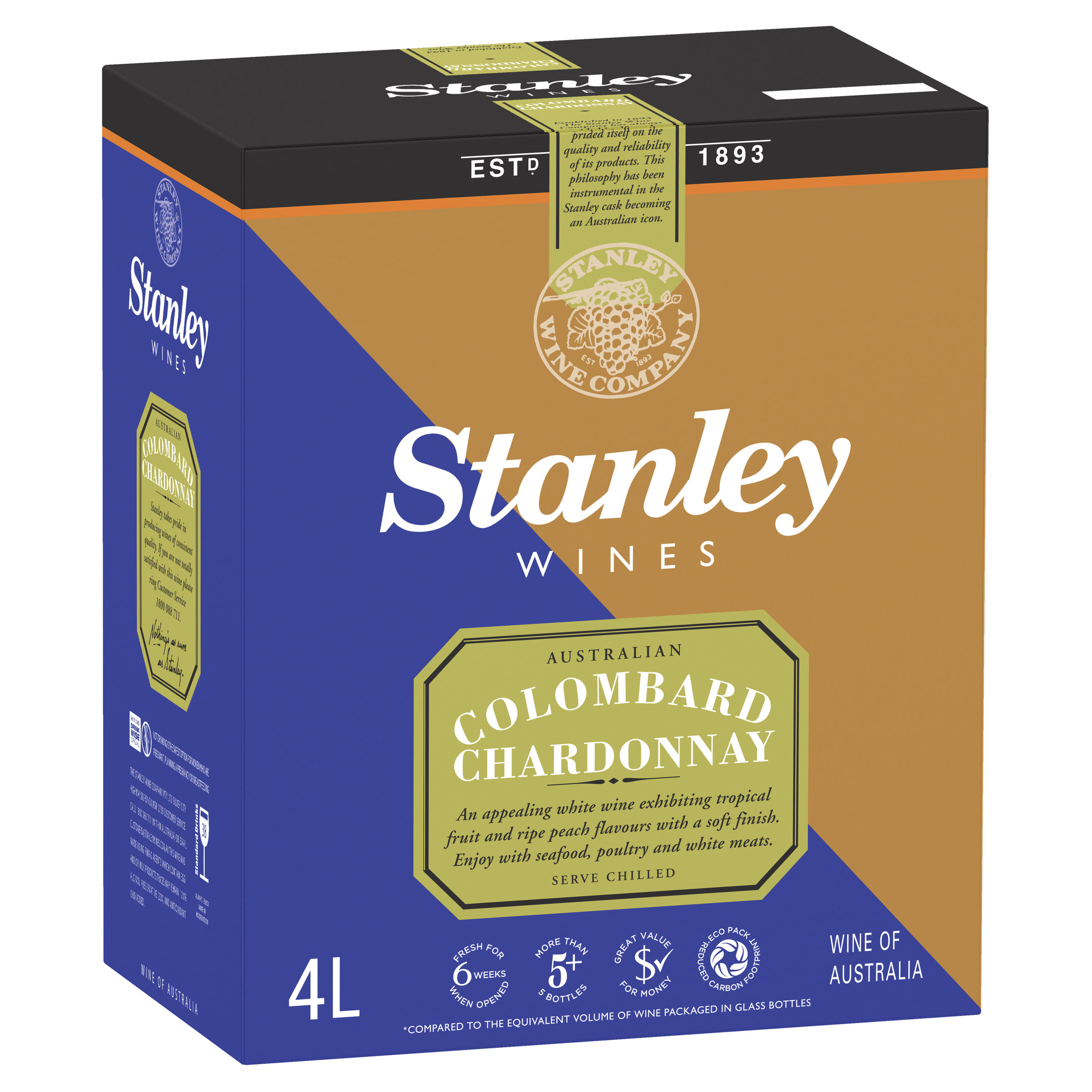 STANLEY COLOMBARD CHARDONNAY