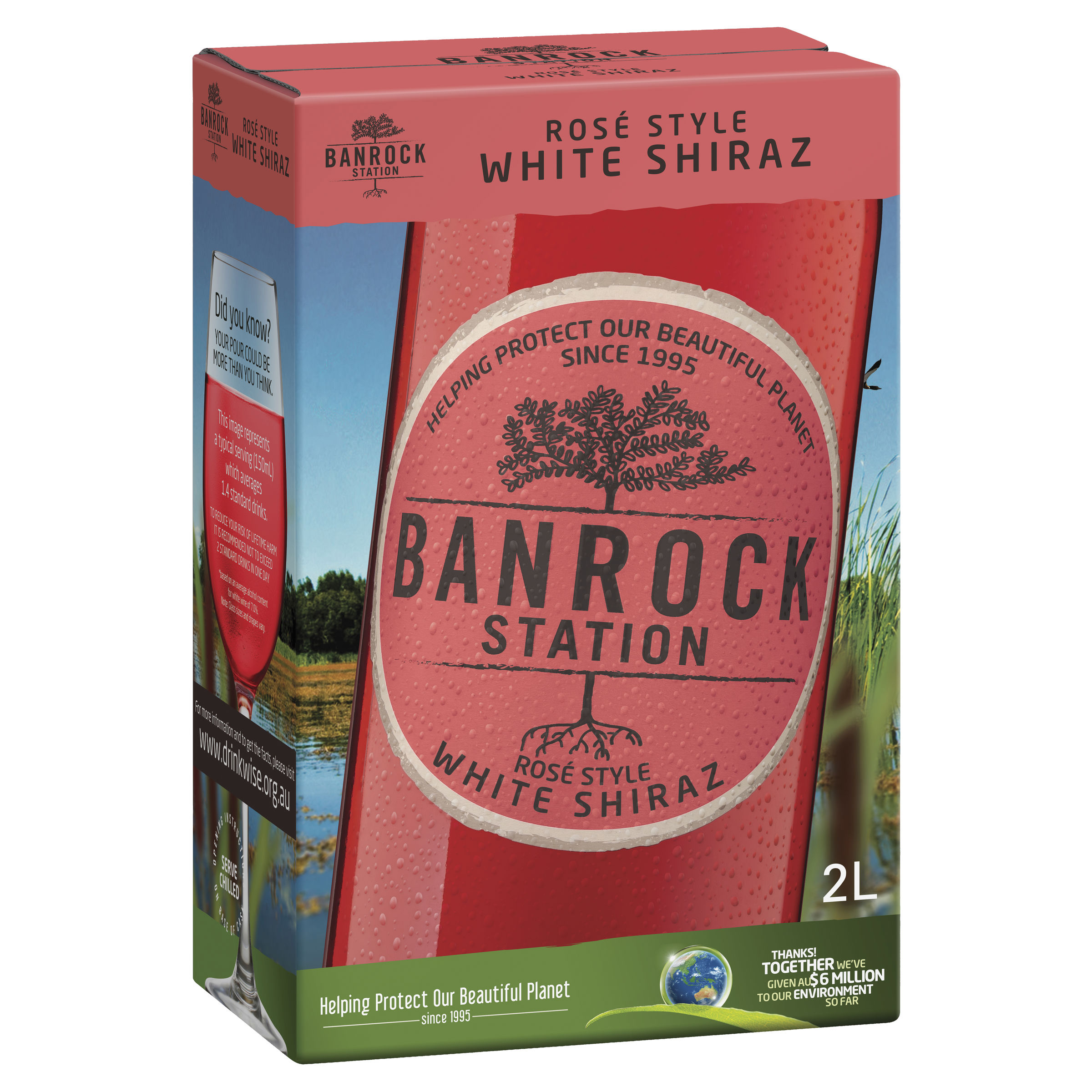BANROCK STATION WHITE SHIRAZ