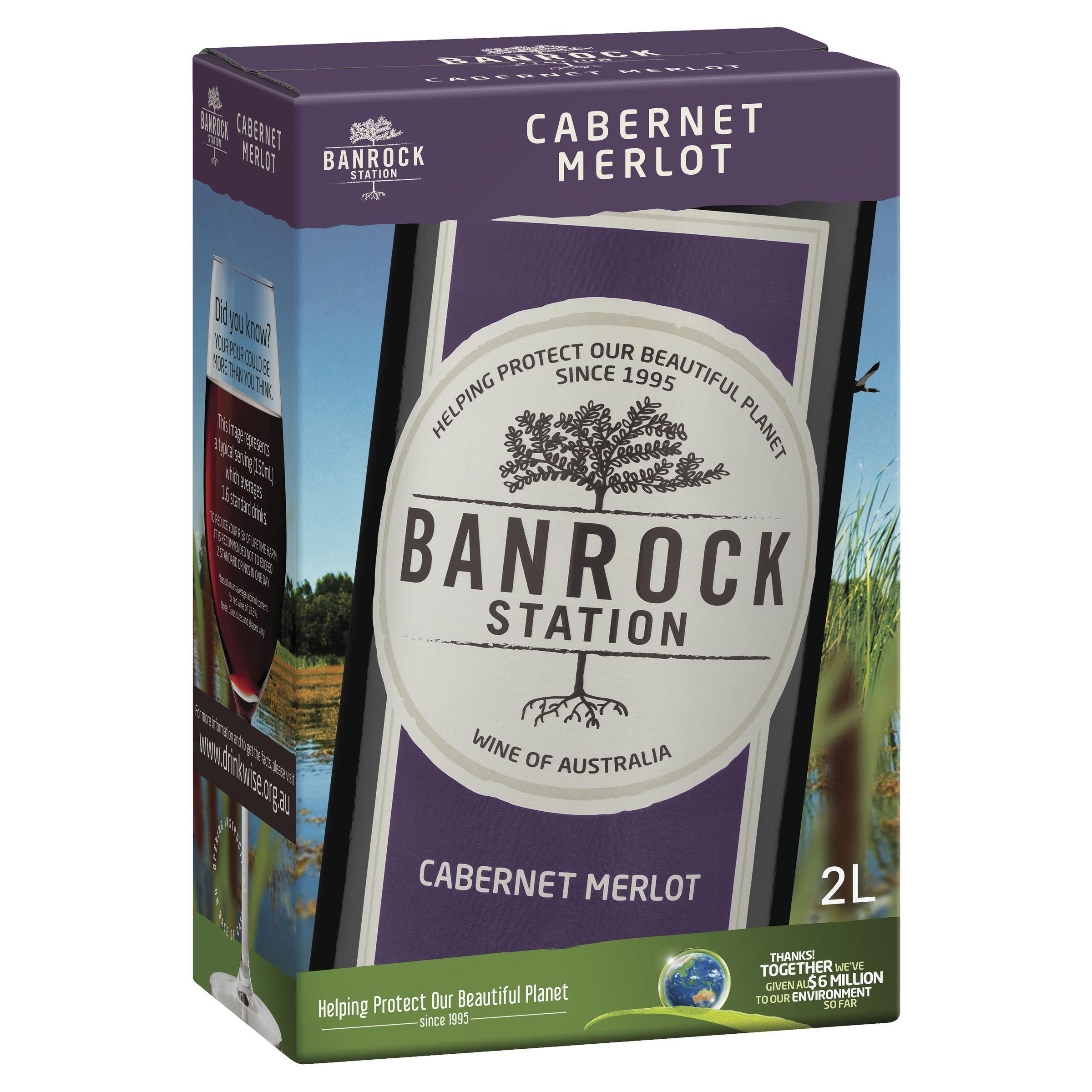 BANROCK STATION CABERNET MERLOT