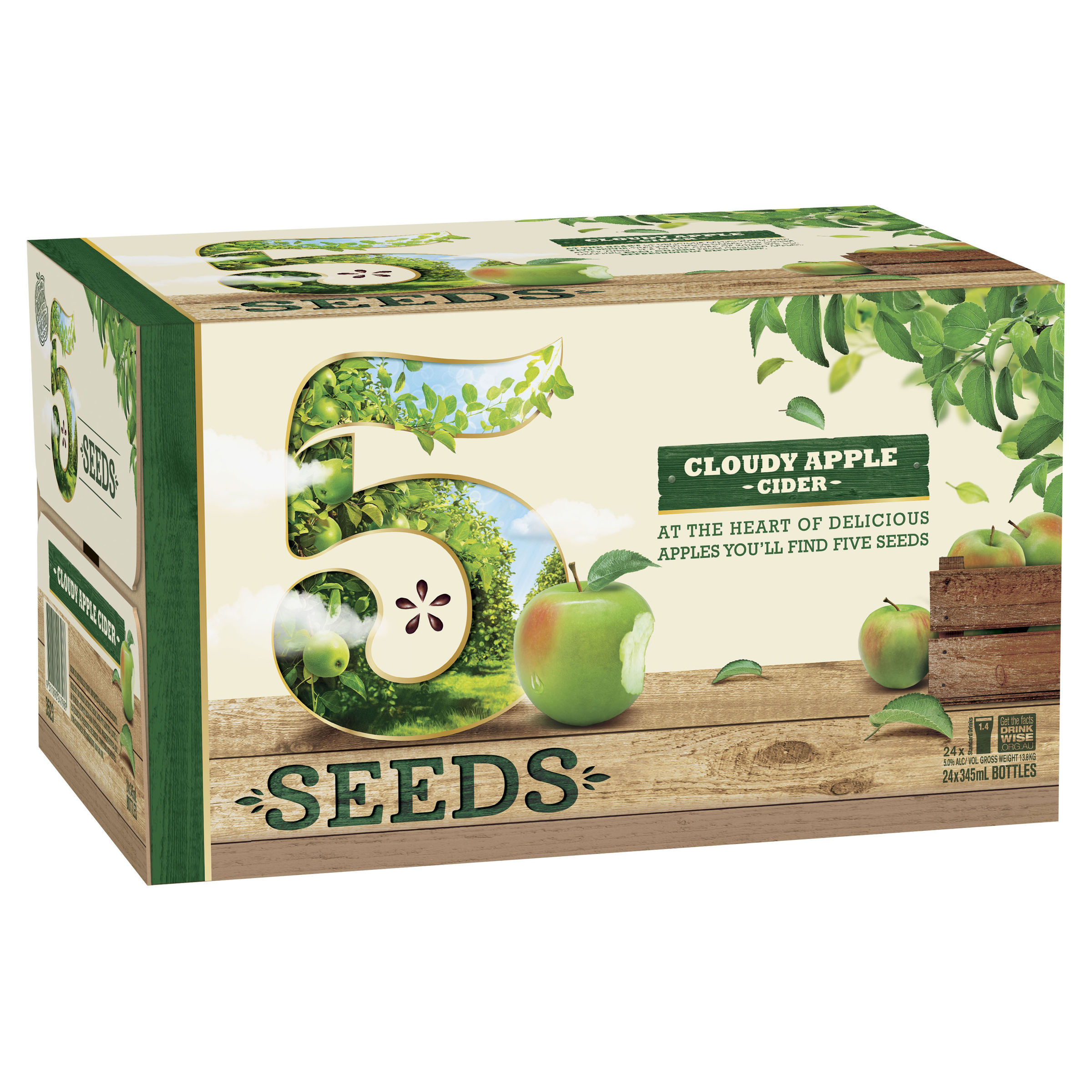 TED 5 SEEDS CLOUDY APPLE CIDER