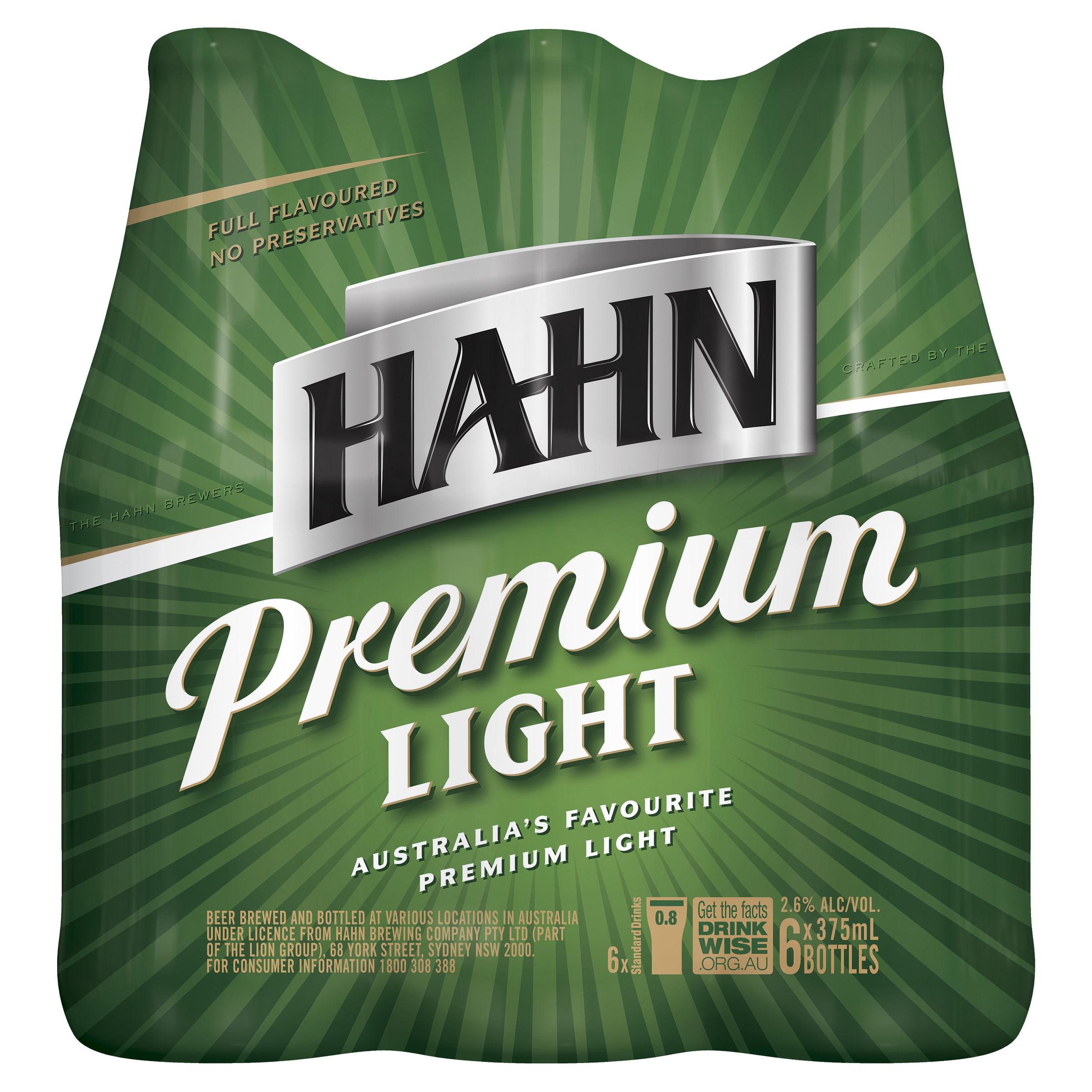 HAHN PREMIUM LIGHT STUBBIES