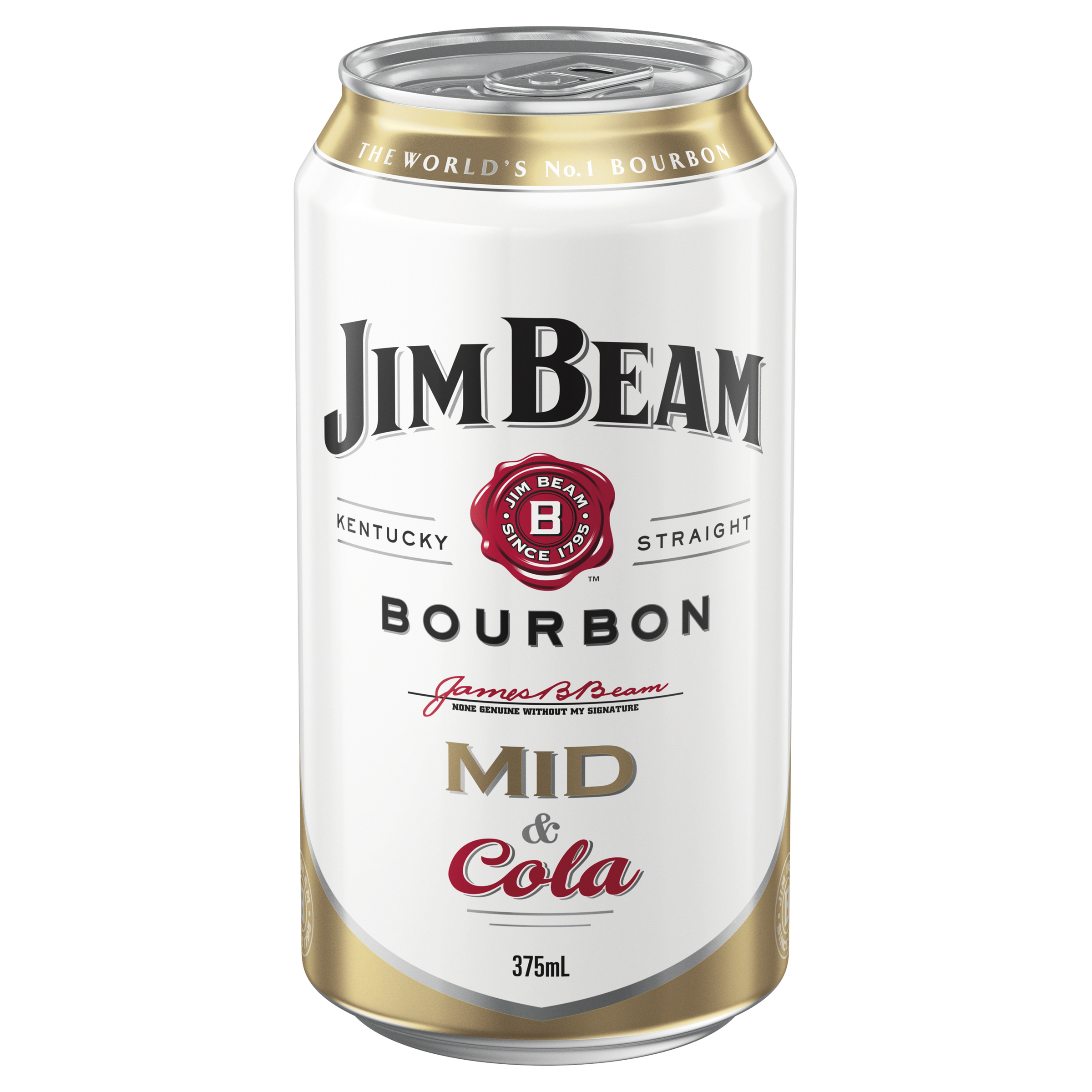 JIM BEAM &COLA MID CAN