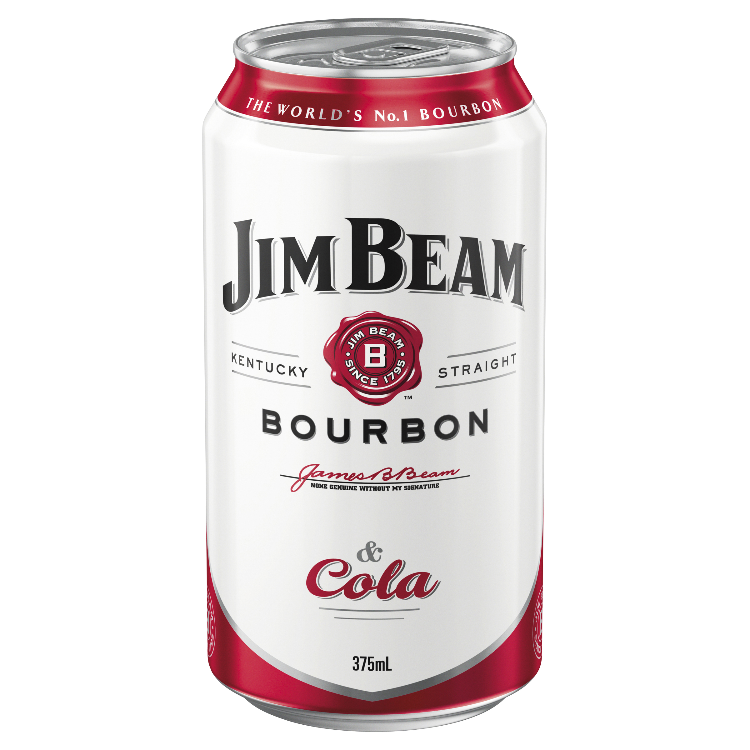 JIM BEAM WHITE & COLA CUBE