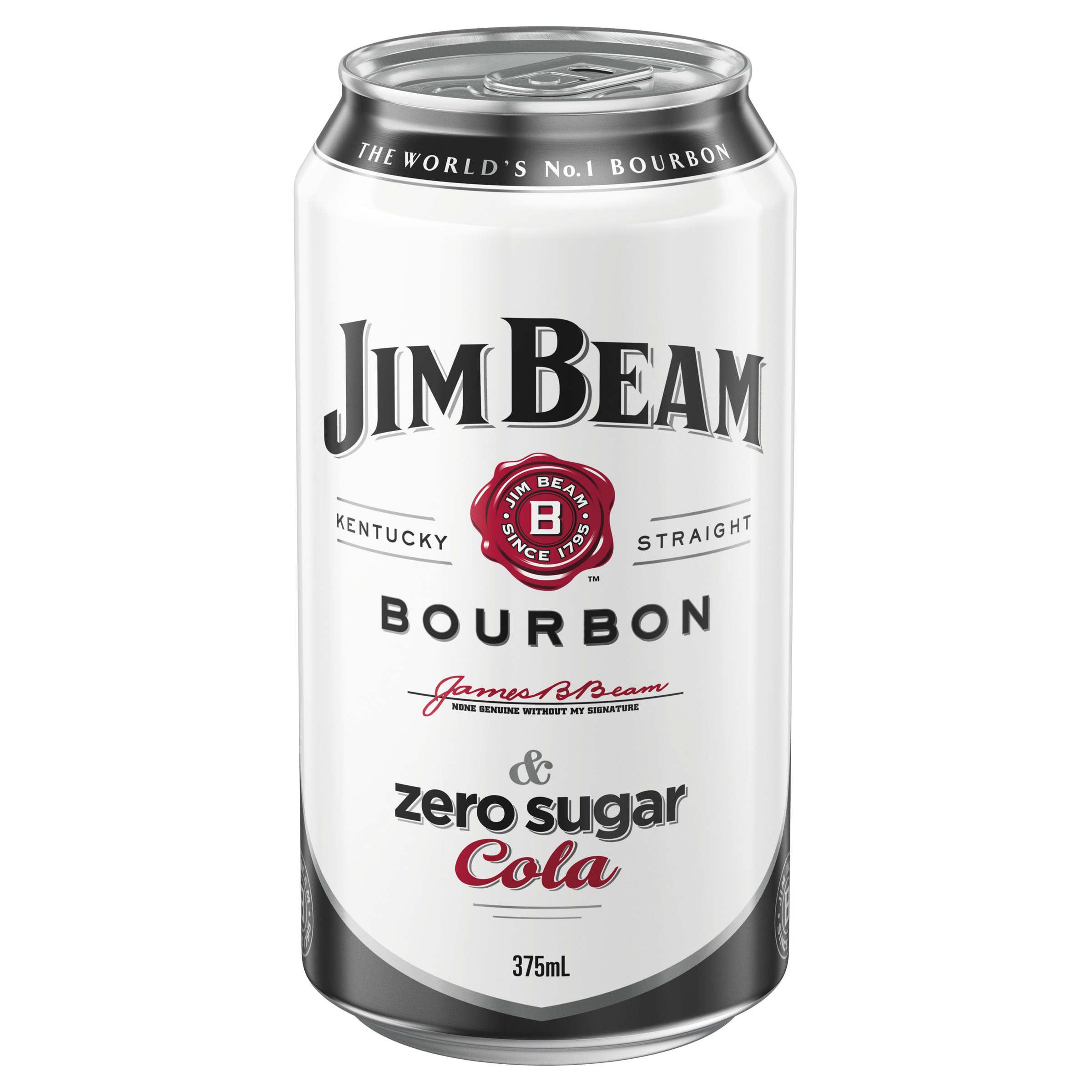 JIM BEAM WHITE & ZERO SUGAR COLA