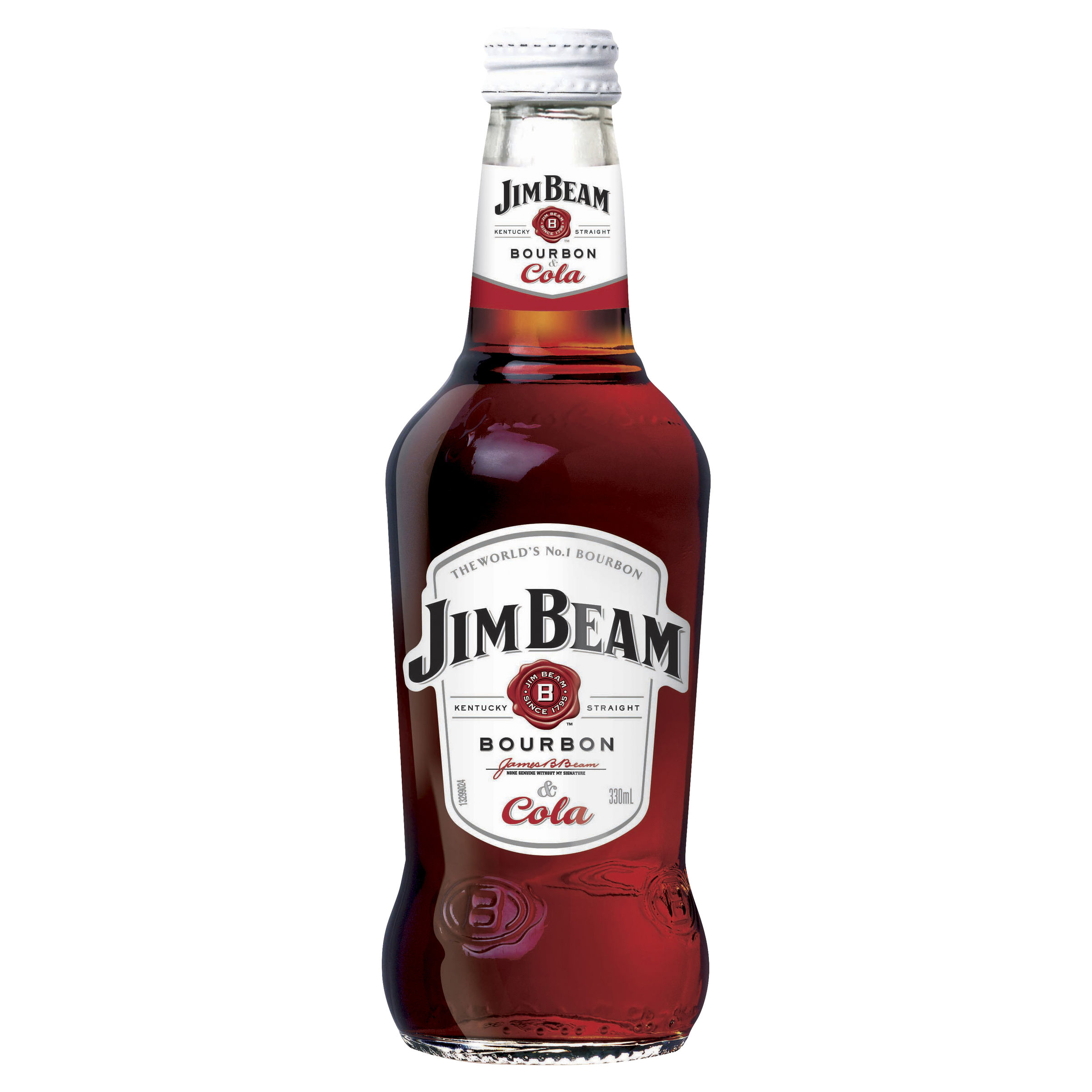 JIM BEAM WHITE & COLA 4PK