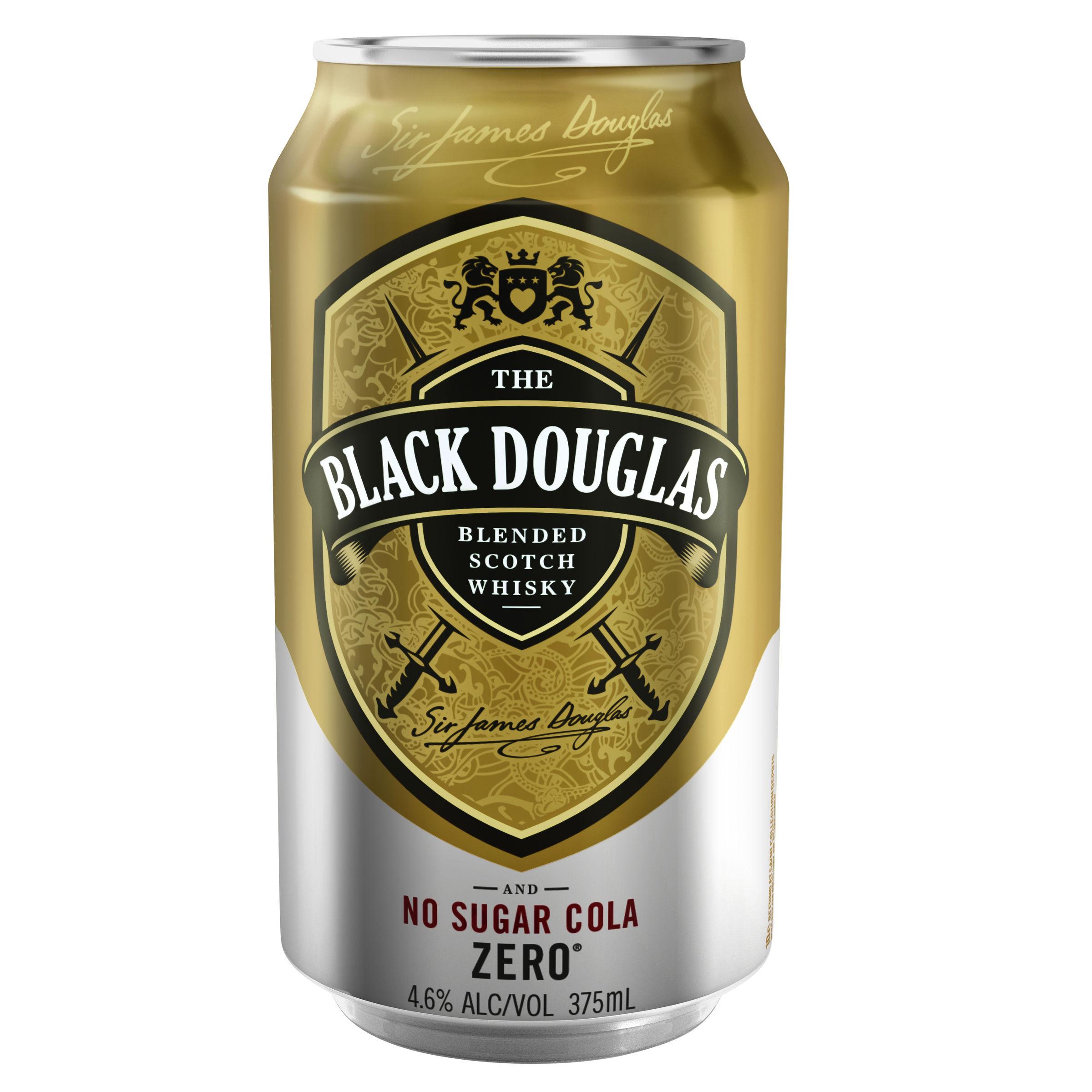 BLACK DOUGLAS ZERO