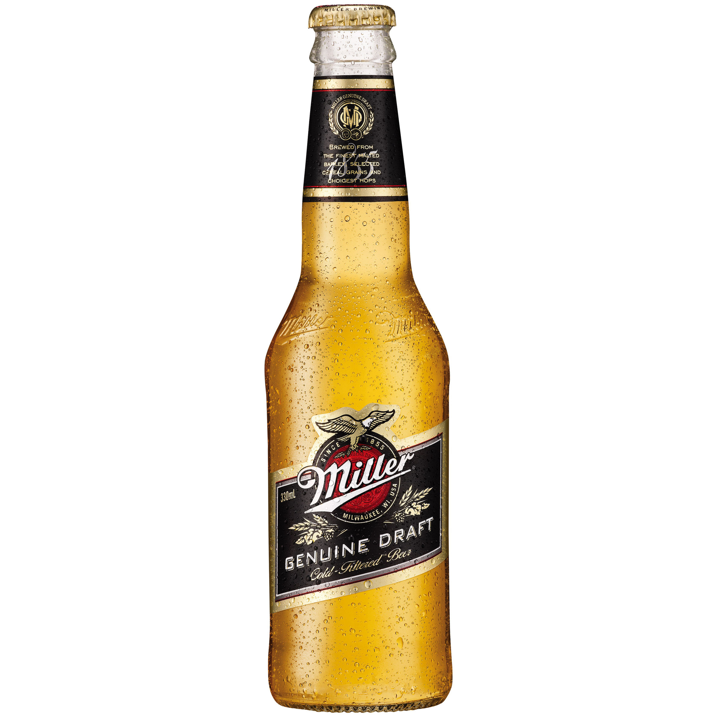 Miller Genuine Draft Bottle Image