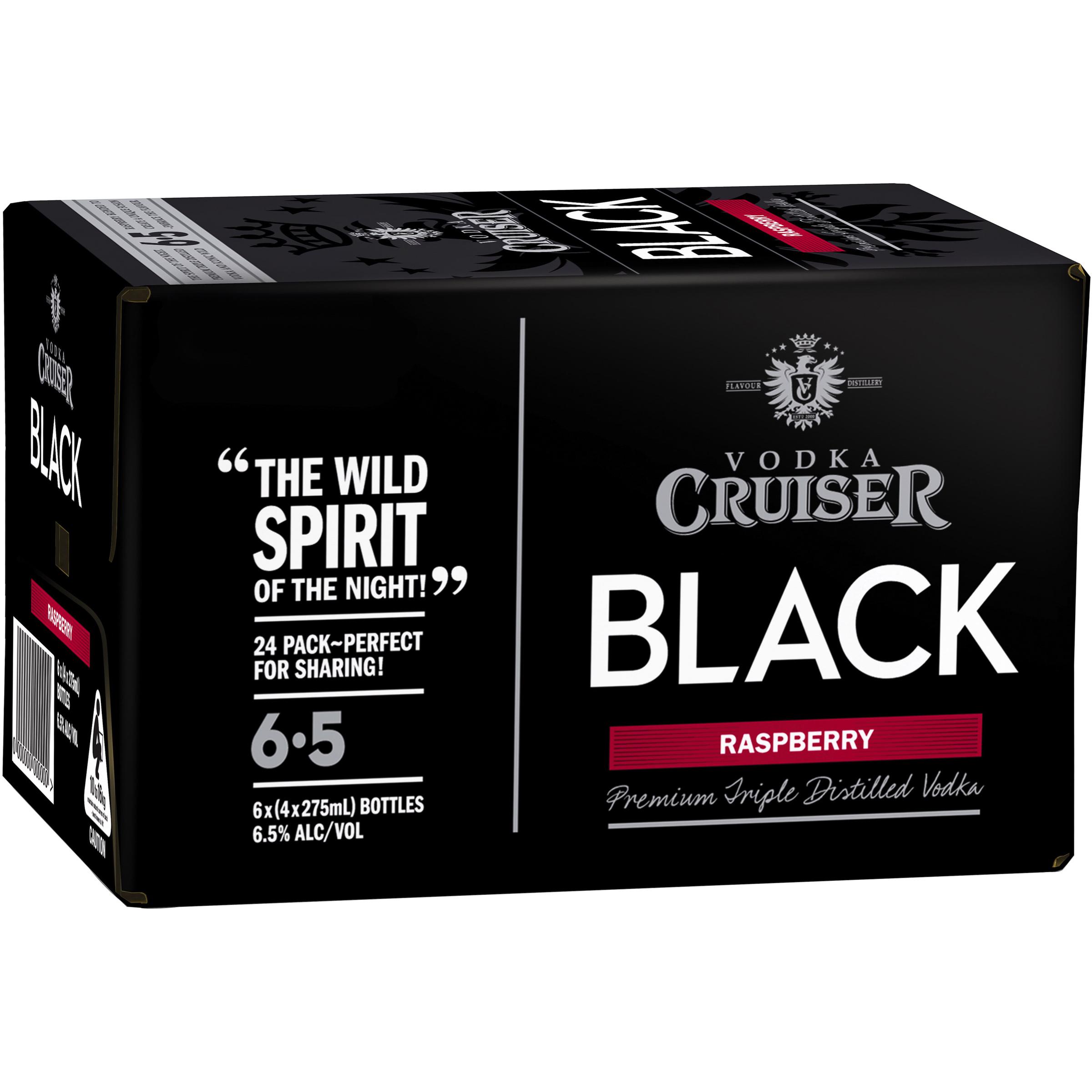 VODKA CRUISER BLACK RASPBERRY
