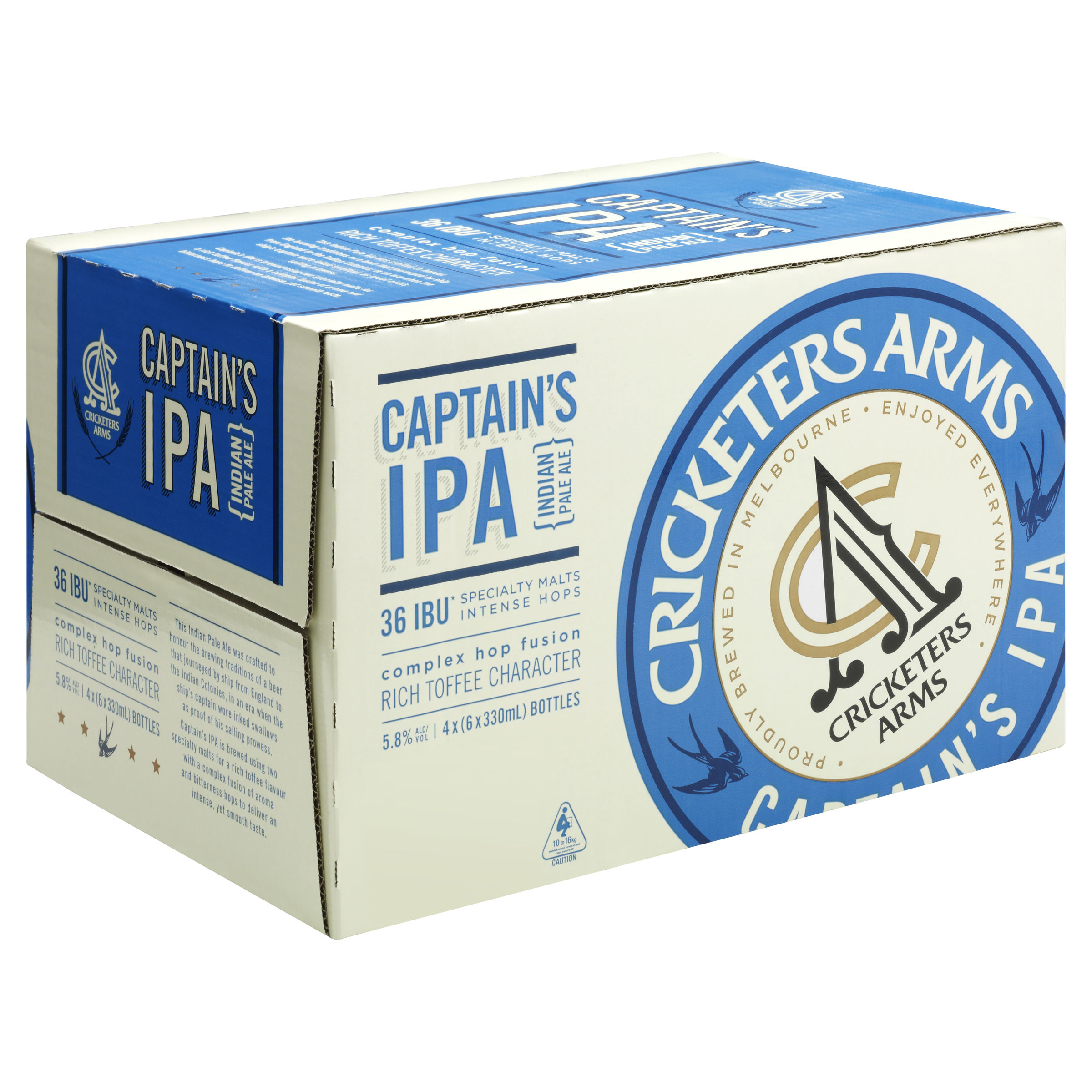CRICKETERS ARMS CAPTAIN'S INDIA PALE ALE