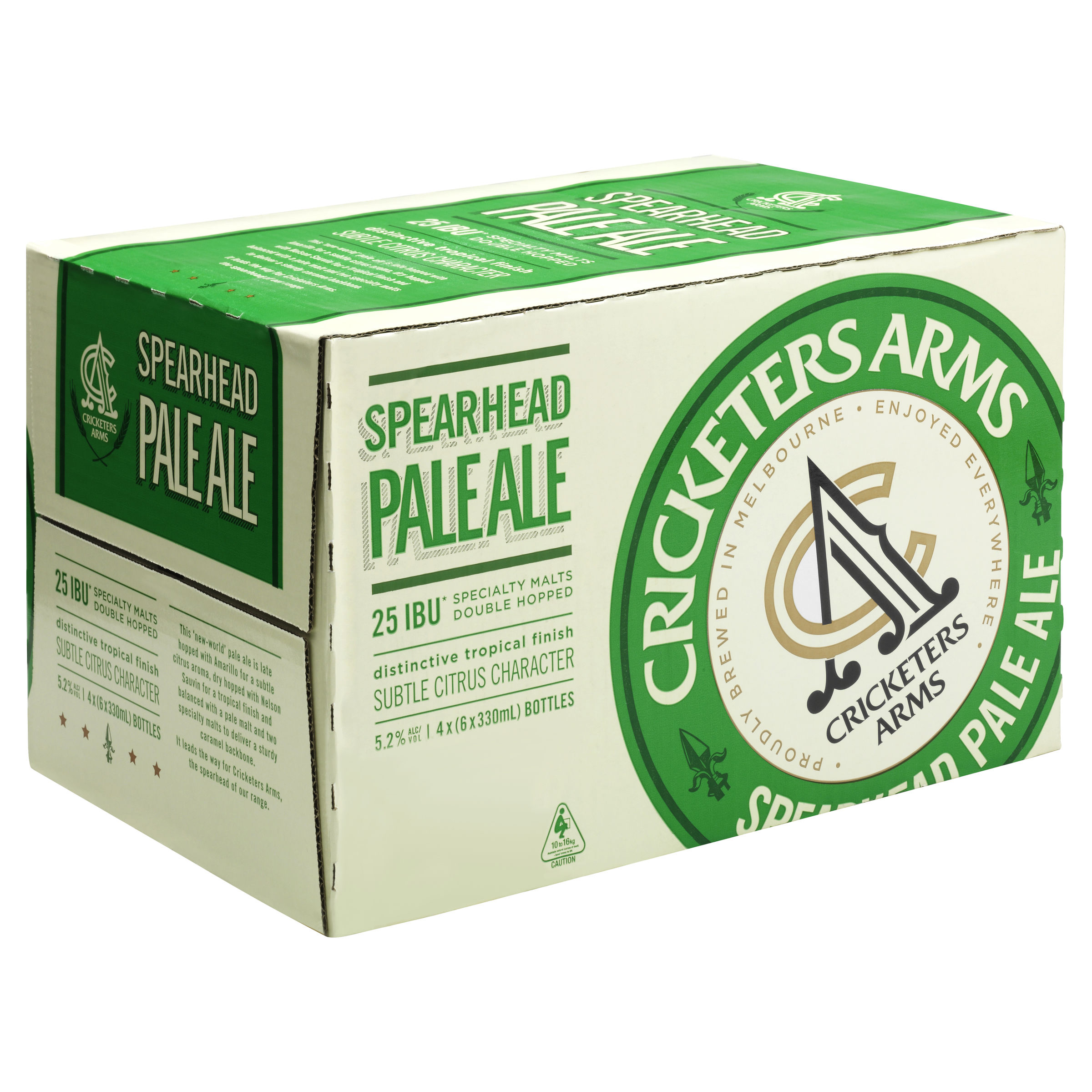 CRICKETERS ARMS SPEARHEAD PALE ALE