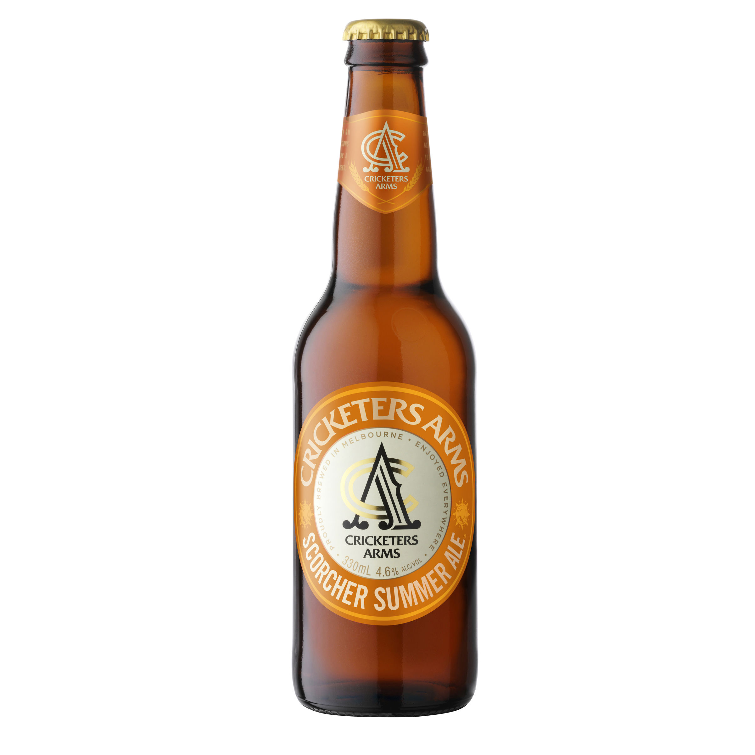 CRICKETERS ARMS SCORCHER SUMMER ALE BOTTLE