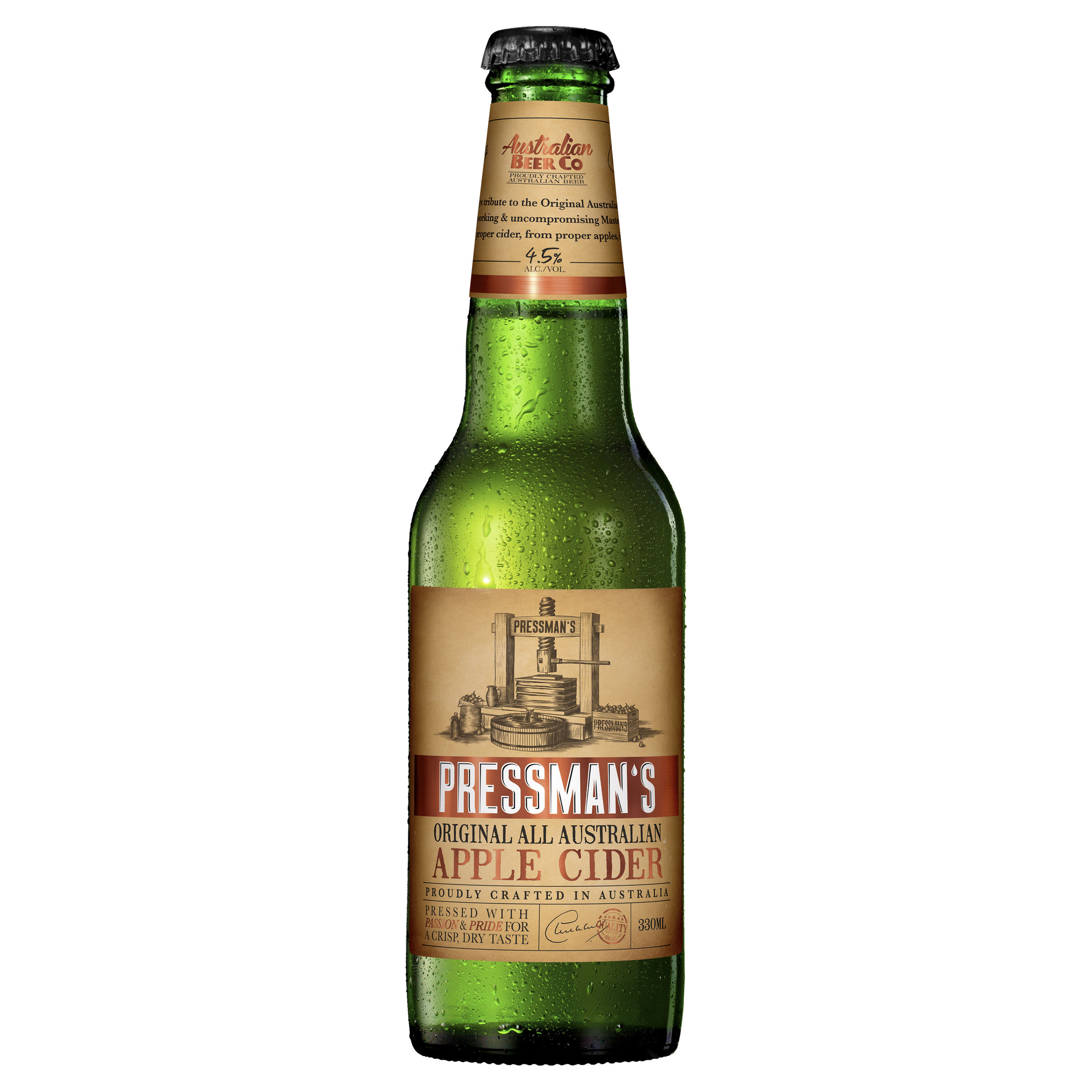 PRESSMANS CIDER BOTTLE