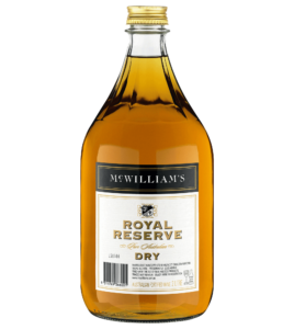 MC WILLIAM'S ROYAL RESERVE DRY SHERRY