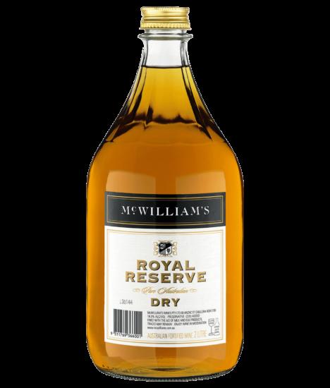 MC WILLIAM'S ROYAL RESERVE DRY SHERRY