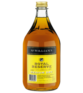 MC WILLIAM'S ROYAL RESERVE MEDIUM DRY SHERRY