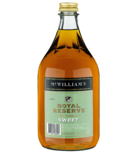 MC WILLIAM'S ROYAL RESERVE SWEET SHERRY