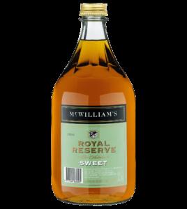 MC WILLIAM'S ROYAL RESERVE SWEET SHERRY