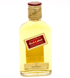 JOHNNIE WALKER RED BOTTLED IN SCOTLAND