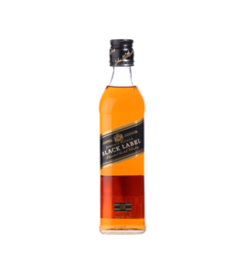 JOHNNIE WALKER BLACK BOTTLED IN SCOTLAND