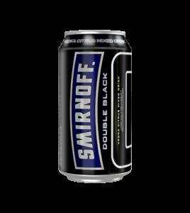 SMIRNOFF ICE DOUBLE BLACK CAN