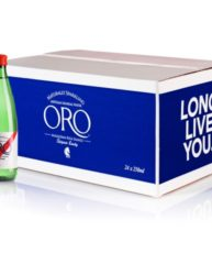 ORO LUXURY NATURALLY SPARK WATER 24PK