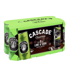 CASCADE LIME & SODA CANS 3X8PK