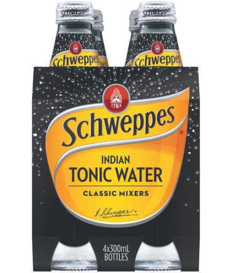 SCHWEPPES DIET TONIC 6X4PK