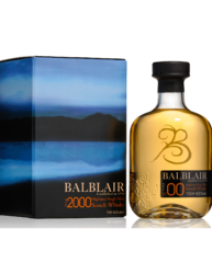 BALBLAIR 2000 SINGLE MALT WHISKY