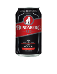BUNDABERG RED & COLA CANS