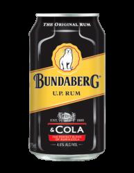 BUNDABERG U.P. & COLA CANS