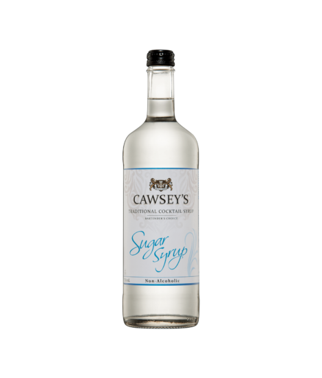 CAWSEY'S COCKTAIL SUGAR SYRUP