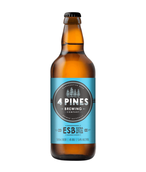 4 PINES EXTRA SPECIAL  BITTER