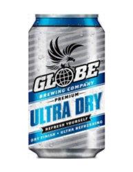 GLOBE ULTRA DRY BEER